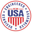 Design, Engineered & Assembled in USA.