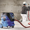 Nilfisk Dust Extractor - For dustless concrete & masonry cutting and grinding.